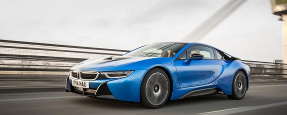 BMW i8 - Top Gear Car of the Year 2014