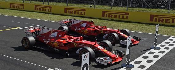 Ferrari - dubla cursa Ungaria 2017