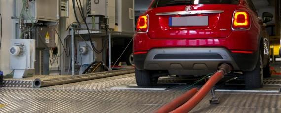 Fiat 500X 2.0 MultiJet 140 CP - teste NOx