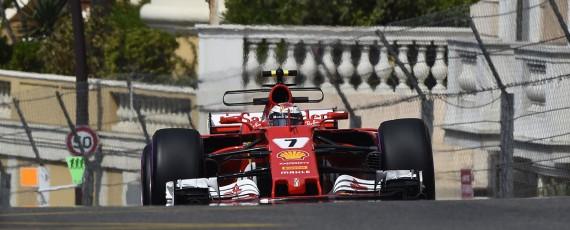 Kimi Raikkonen - pole position Monaco 2017
