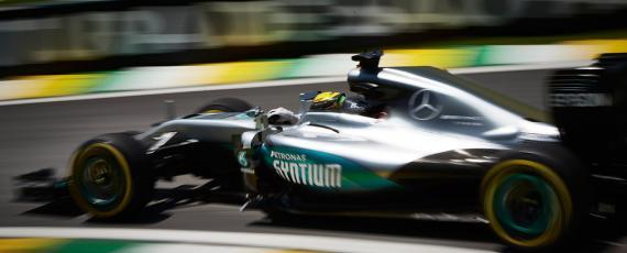 Lewis Hamilton - castigator Brazilia 2016