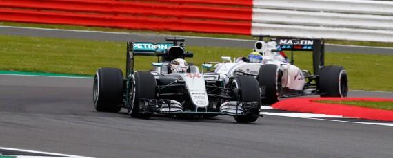 Lewis Hamilton - castigator Silverstone 2016