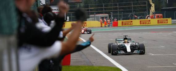 Lewis Hamilton - castigator Belgia 2017