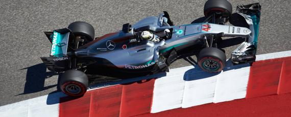 Lewis Hamilton - castigator Austin 2016