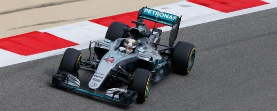 Lewis Hamilton - pole position Bahrain 2016