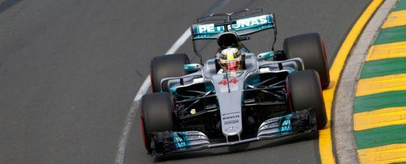 Lewis Hamilton - pole position Melbourne 2017
