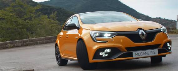 Renault Megane RS 2018 - 4CONTROL video