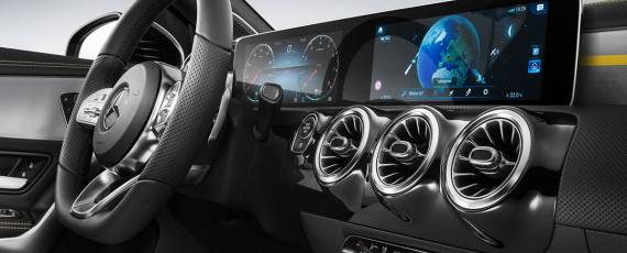 Mercedes-Benz A-Class 2018 - interior