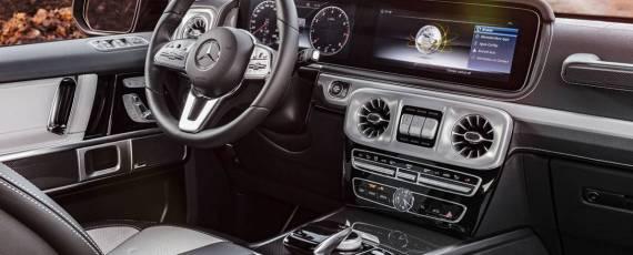 Mercedes-Benz G-Class 2018 - interior