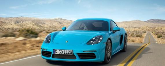 Noul Porsche 718 Cayman S