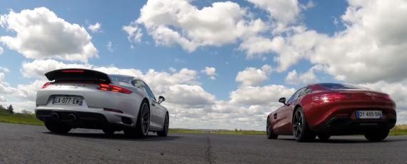 Porsche 911 Carrera 4S vs Mercedes-AMG GT