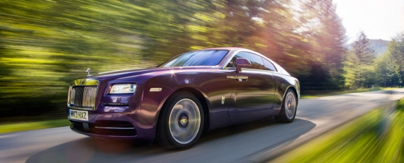 Noua decapotabila Rolls-Royce Wraith