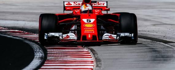 Sebastian Vettel - pole position Hungaroring 2017