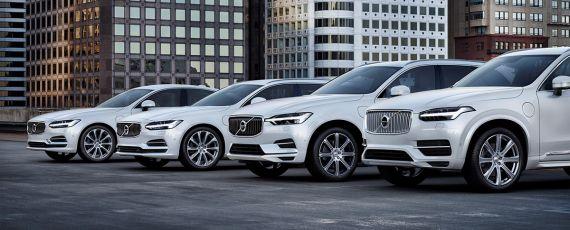 Volvo - masini electrice si hibrid