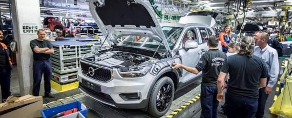 Volvo XC40 - start productie