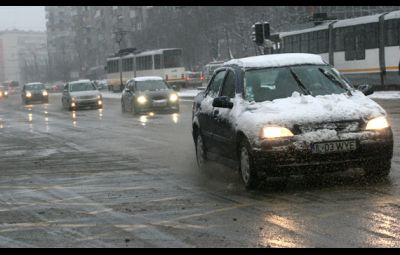 Circulatia auto iarna