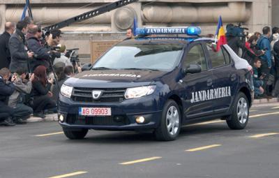 Dacia Logan pentru Jandarmerie
