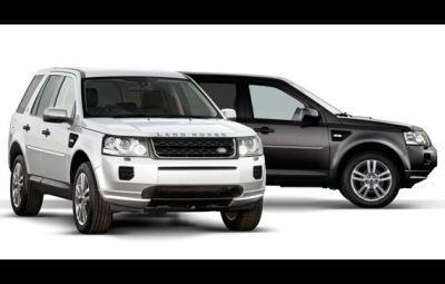 Land Rover Freelander 2 - Black and White