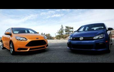 Versus SUA: Golf R - Focus ST