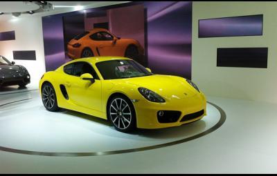 Noul Porsche Cayman
