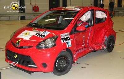 Toyota Aygo - Euro NCAP 2012