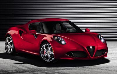 Noua Alfa Romeo 4C