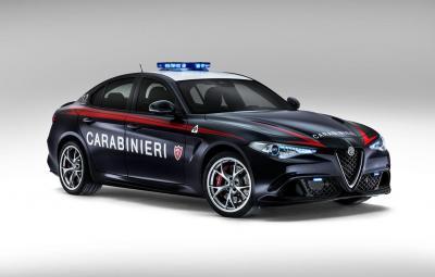 Alfa Romeo Giulia Quadrifoglio - Carabinieri