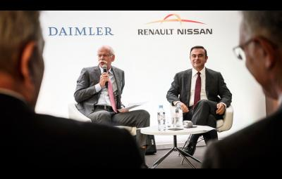 Fabrica Daimler Nissan in Mexic