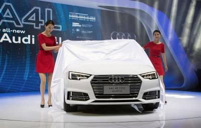 Audi - cifre vanzari august 2017