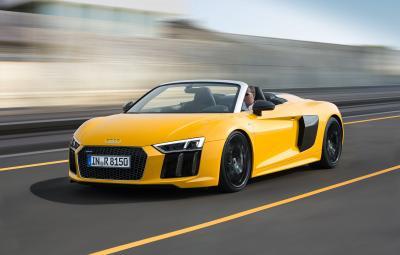 Audi R8 Spyder Video