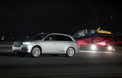 Audi SQ7 TDI vs Red Bull Alpha Jet