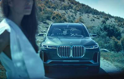 BMW Concept X7 iPerformance - video