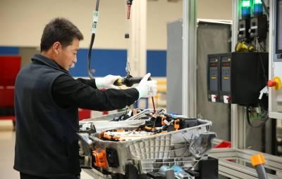 BMW - fabrica baterii China