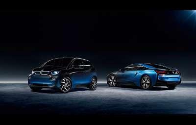 BMW i3 și BMW i8 Garage Italia CrossFade