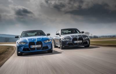 BMW M3 Competition şi BMW M4 Competition