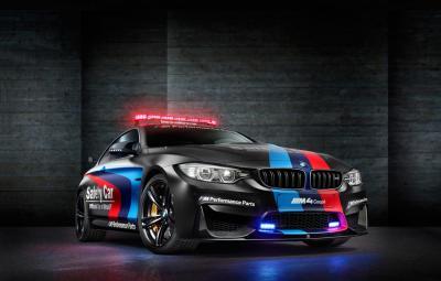 Noul BMW M4 MotoGP Safety Car 2015