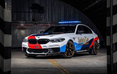 BMW M5 - MotoGP Safety Car