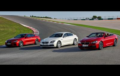 BMW M6 Coupe, BMW Seria 6 Gran Coupe, BMW Seria 6 Convertible