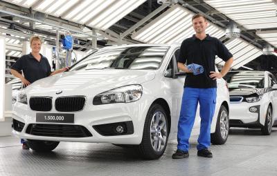 BMW - 1.500.000 masini la Leipzig