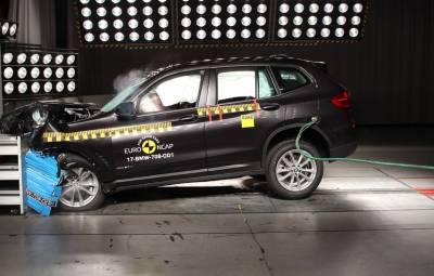 BMW X3 2017 - Euro NCAP