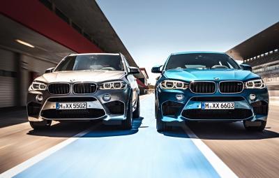 Noile BMW X5 M si X6 M