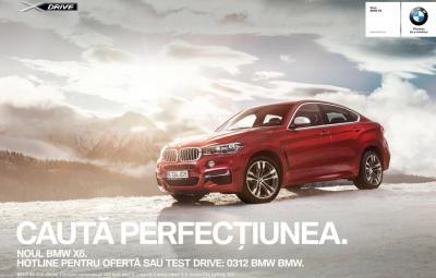 BMW X6 - campanie outdoor Romania - Ciprian Mihai