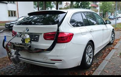 BMW 320d Touring - emisii NOx, investigatie DUH
