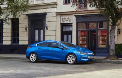 Noul Chevrolet Volt 2015