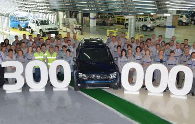 Dacia Duster facelift - 300.000 de exemplare produse la Mioveni