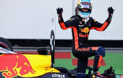 Daniel Ricciardo - castigator Baku 2017