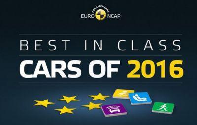 Euro NCAP - Best in Class Cars of 2016