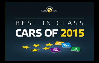 Euro NCAP - Best in Class cars of 2015