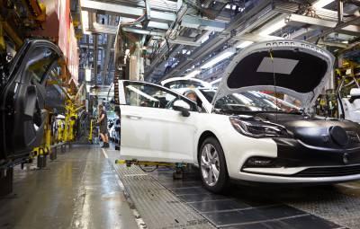 Fabrica Vauxhall din Ellesmere Port