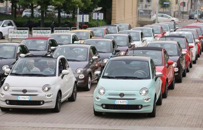 Fiat 500 - rechemare service